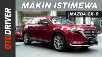 VIDEO: Mazda CX-9 2018 | First Impression | OtoDriver
