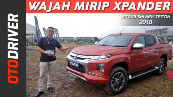 VIDEO: Mitsubishi Triton 2018 | First Drive | OtoDriver