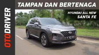 VIDEO: Hyundai Santa Fe 2018 Review Indonesia | OtoDriver