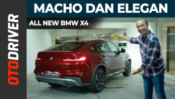 VIDEO: All New BMW X4 2019 | First Impression | OtoDriver