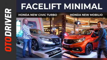 VIDEO: Honda Mobilio 2019 & Honda Civic Turbo 2019 | First Impression | OtoDriver