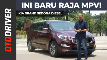 VIDEO: KIA Grand Sedona Diesel 2019 Review Indonesia | OtoDriver