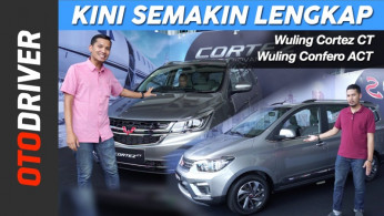 VIDEO: Wuling Cortez CT & Wuling Confero S ACT 2019 | First Drive | OtoDriver