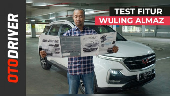 VIDEO: Tes Fitur Wuling Almaz 2019 | OtoDriver