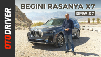 VIDEO: BMW X7 2019 | First Drive | OtoDriver