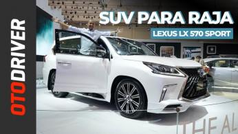 VIDEO: Lexus LX 570 Sport | First Impression | OtoDriver