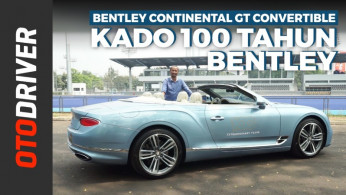 VIDEO: Bentley Continental GT Convertible 2019 | First Drive | OtoDriver