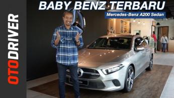 VIDEO: Mercedes-Benz A200 Sedan 2019 | First Impression | OtoDriver
