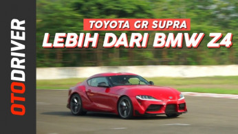 VIDEO: Toyota GR Supra 2020 | First Drive | OtoDriver