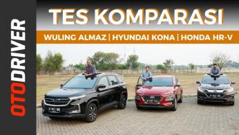 VIDEO: Wuling Almaz VS Hyundai Kona VS Honda HR-V 2019 | Review Indonesia | OtoDriver