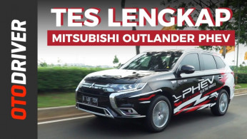 VIDEO: Mitsubishi Outlander PHEV 2019 | Review Indonesia | OtoDriver