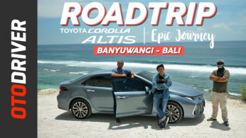 VIDEO: Toyota Corolla Altis HEV 2020 | ROADTRIP - PART 3 Feat. Om Mobi & Ridwan Hanif | OtoDriver