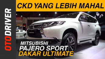 VIDEO: First Impression Mitsubishi Pajero Sport Dakar Ultimate