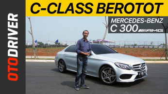 VIDEO: Mercedes-Benz C300 AMG Line Review | OtoDriver