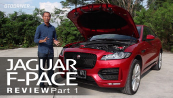 VIDEO: Jaguar F-Pace 2016 Review | OtoDriver