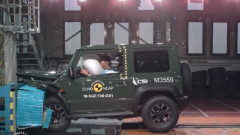 VIDEO: Crash Test Suzuki Jimny Generasi Terbaru (Euro NCAP)