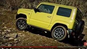 Beredar Video Suzuki Jimny Generasi Terbaru Diuji di Medan Off Road