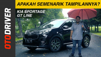 VIDEO: KIA Sportage GT Line 2018 Review Indonesia | OtoDriver