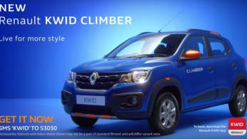 VIDEO: Renault Kwid Climber 2017