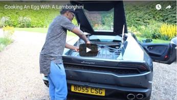 VIDEO: Mesin Lamborghini Huracan Dipakai Menggoreng Telur