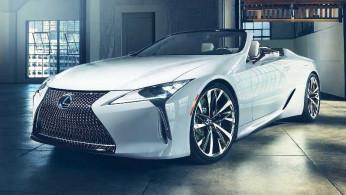 VIDEO: Lexus LC Lebih Cantik Dengan Model Convertible