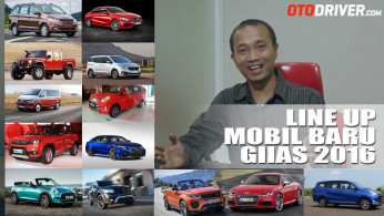 VIDEO: Line-Up Mobil-Mobil Baru Di GIIAS 2016