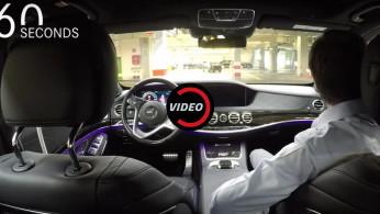 VIDEO: Teknologi Autonomous Mercedes-Benz S-Class Langsung Dipakai Begitu Keluar Pabrik