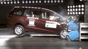 VIDEO: Crash Test Honda Mobilio