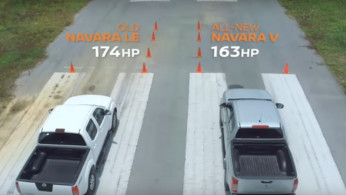 VIDEO: Drag Race Nissan Navara Baru VS Lama
