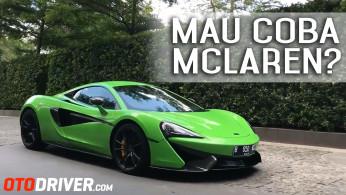 Mau Coba McLaren 570S? Simak Video Ini