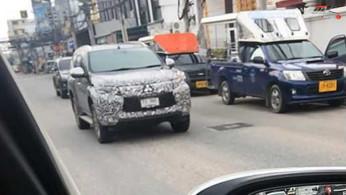 SPY VIDEO: Mitsubishi Pajero Sport Bakal Facelift?