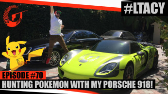 VIDEO: Pria Kaya Ini Bermain Pokemon Go Menggunakan Porsche 918 Spyder