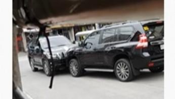 "VIDEO: Terjadi ""Adu Fisik"" 2 Unit Toyota Prado"