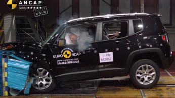 VIDEO: Crash Test Jeep Renegade