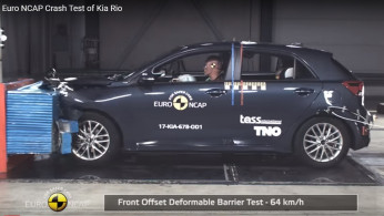 VIDEO: Crash Test Kia Rio 2017 (Euro NCAP)