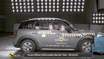 VIDEO: Crash Test MINI Countryman 2017 (Euro NCAP)