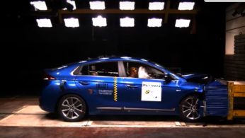 Video: Crash Test Hyundai Ioniq (ASEAN NCAP)