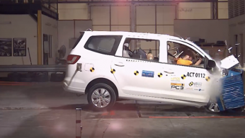 VIDEO: Crash Test Wuling Confero 2018 (ASEAN NCAP)