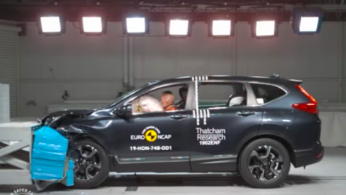 VIDEO: Crash Test Honda CR-V 2019 (Euro NCAP)