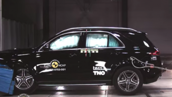 VIDEO: Crash Test Mercedes-Benz GLE 2019