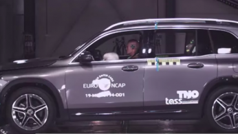 VIDEO: Crash Test Mercedes-Benz GLB 2019 (Euro NCAP)