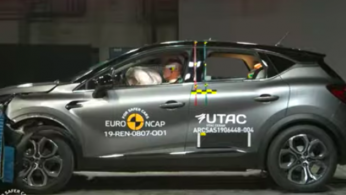 VIDEO: Crash Test Renault Captur 2019 (Euro NCAP)