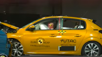 VIDEO: Crash Test Peugeot 208 (Euro NCAP)