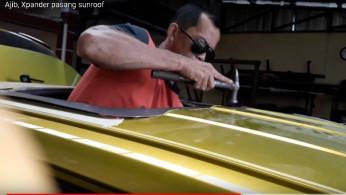 VIDEO: Xpander Ini Jebol Atap dan Habisi RP 12 Juta Demi Sunroof