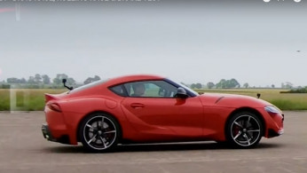 VIDEO: Drag Race Toyota Supra VS BMW Z4