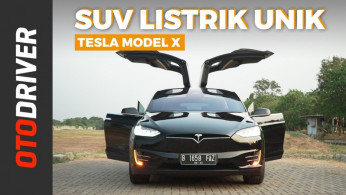 VIDEO: Tesla Model X 2019 | Review Indonesia | OtoDriver
