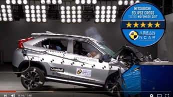 VIDEO: Crash Test Mitsubishi Eclipse Cross 2017 (ASEAN NCAP)