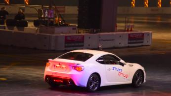 VIDEO: Subaru BRZ Pecahkan Rekor Berputar di Tempat Sempit