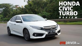 VIDEO: Honda Civic Turbo 2016 Review | OtoDriver