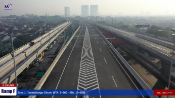 VIDEO: Melihat Tol Cikampek Elevated dari Udara